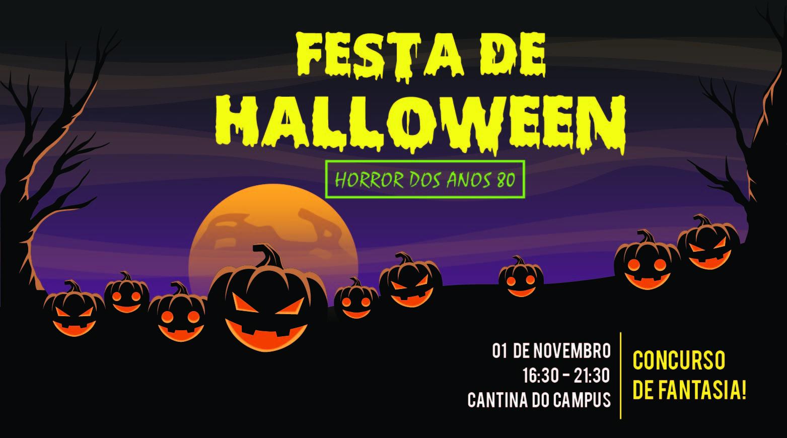 Campus Serra realiza Halloween Party 2018